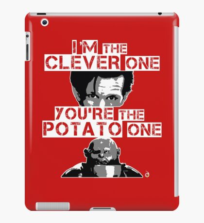 Doctor Who clever potato iPad Case/Skin