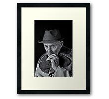 Johnie C the man Framed Print