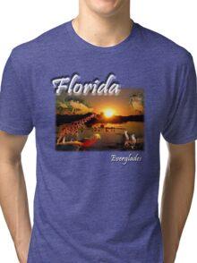 Florida Everglades Tri-blend T-Shirt
