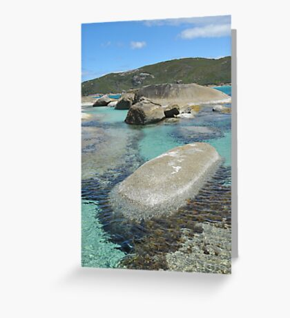 Lowlands Beach, Denmark, Western Australia Greeting Card