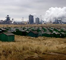 South Gare Fishermen's Cabins by SighMulgrave
