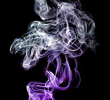 Shapes Amongst The Smoke. by Nick Griffin