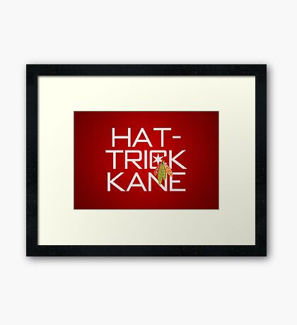Hat-Trick Kane Framed Print
