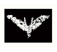 Batman 'Chalk Bat Signal' from The Dark Knight Rises Art Print