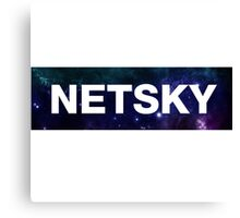 NETSKY Canvas Print