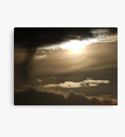 Stormy Sun Day Canvas Print