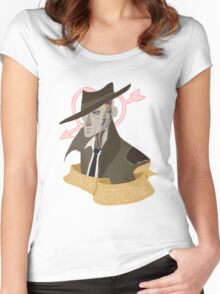 It's Synth Detective, Jackass Women's Fitted Scoop T-Shirt