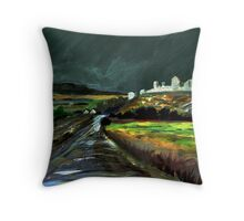 On the Road to Cashel Throw Pillow