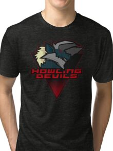 Monster Hunter All Stars - Howling Devils [Subspecies] Tri-blend T-Shirt