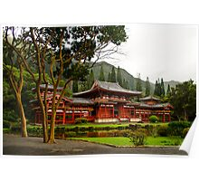 The Byodo-in Temple Poster