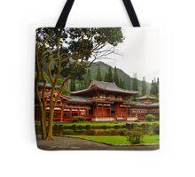 The Byodo-in Temple Tote Bag