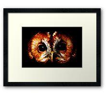 Burning Bright Framed Print