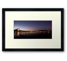 Canberra Reflections Framed Print