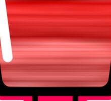 Red Blender Sticker