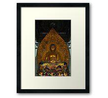 Meditation Buddha Framed Print