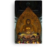 Meditation Buddha Canvas Print