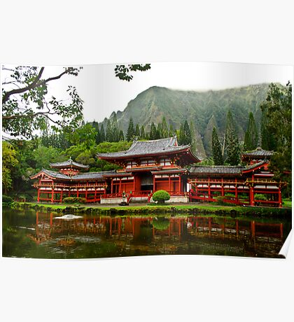 Byodo-in Temple Poster