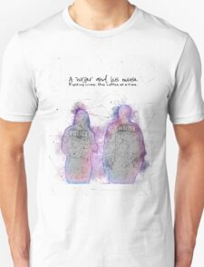A Writer & His Muse T-Shirt