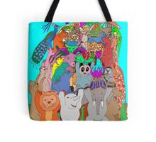 The Fauna Castle Tote Bag