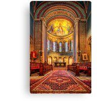 The Italianate Church Canvas Print