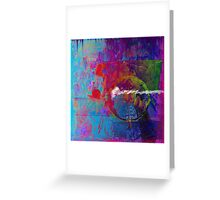 Breathe in color... Greeting Card