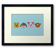 Winnie dolls Framed Print