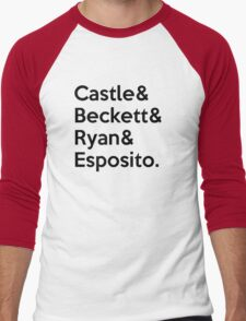 The 12th Precinct's Fantastic Four Men's Baseball ¾ T-Shirt