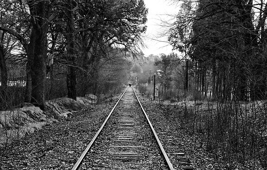 Down The Track. by Nick Egglington