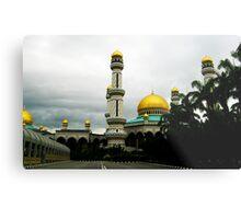 Jame'asr Hassanil Bolkiah Mosque, Brunei Metal Print