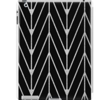 Black and silver pattern iPad Case/Skin