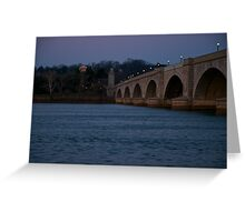 Annapolis Memorial Bridge Greeting Card