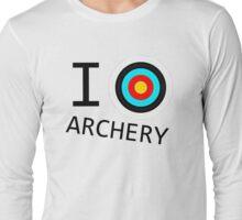 I Target Archery! Long Sleeve T-Shirt