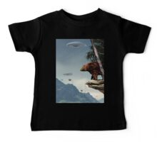 Do Aliens Get Grizzly? Baby Tee