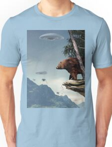 Do Aliens Get Grizzly? Unisex T-Shirt