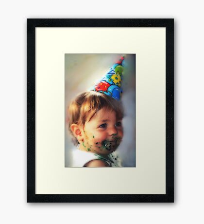 """Little Comic Clown..."" Framed Print"