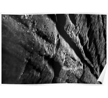 Ledge Wall - Cuyahoga Valley National Park, Ohio Poster
