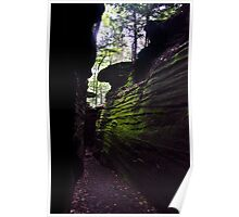 Ritchie Ledges - Cuyahoga Valley National Park, Ohio Poster
