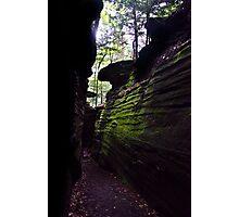 Ritchie Ledges - Cuyahoga Valley National Park, Ohio Photographic Print