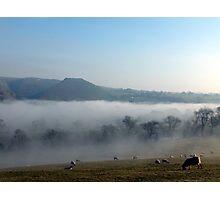 Thorpe Cloud Feb 2013 Photographic Print