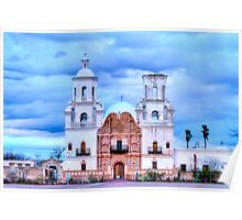 Mission San Xavier del Bac Poster