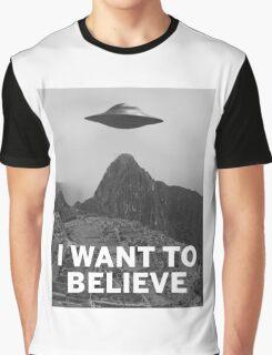 Want2Believe (Machu Picchu) Graphic T-Shirt