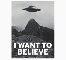 Want2Believe (Machu Picchu) by modernitees