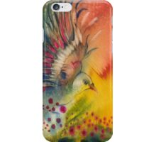 """""""Dance with Flowers"""" from the series """"In the Garden of Joy"""" iPhone Case/Skin"""