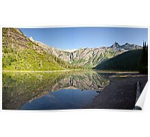 Avalanche Lake - Glacier National Park, Montana Poster