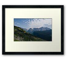 Recovery - Glacier National Park, Montana Framed Print