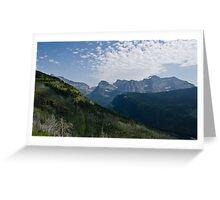 Recovery - Glacier National Park, Montana Greeting Card