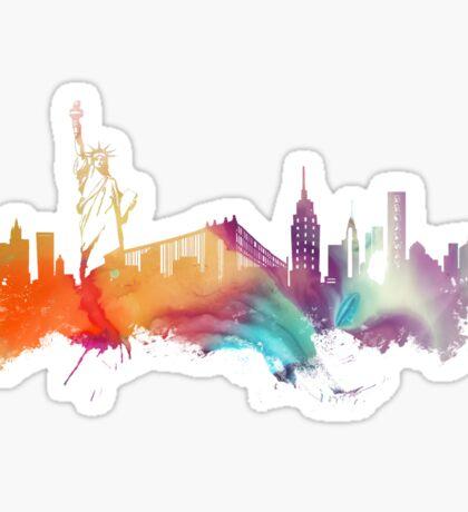 NYC New York City skyline Sticker