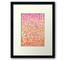 Target Abstract  Framed Print