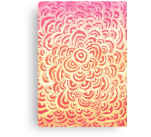 Target Abstract  Canvas Print