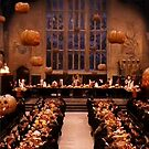 Halloween in the Great Hall by Serdd